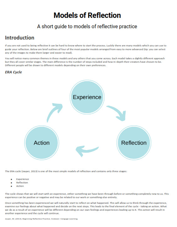 Models of reflection